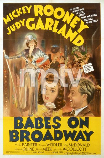 """""""Babes on Broadway""""Poster1941 MGM**I.V. - Image 17260_0002"""