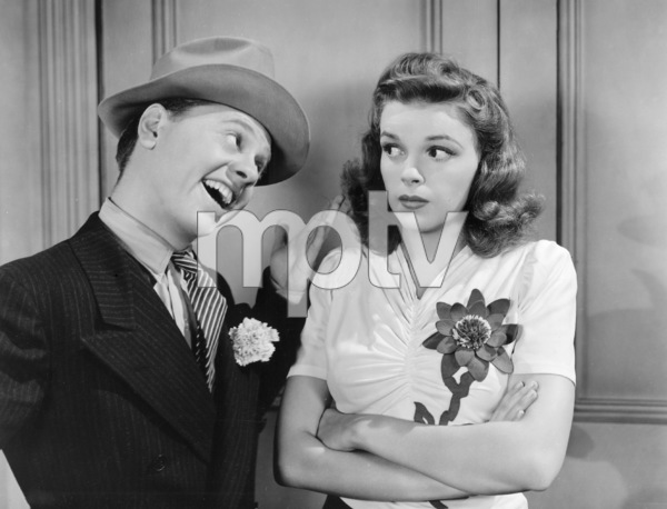 """Babes on Broadway""Judy Garland, Mickey Rooney1941 MGM** I.V. - Image 17260_0005"