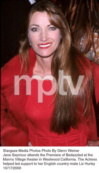 """""""Bedazzled"""" Premiere.Jane Seymour.  10/17/00. © 2000 Glenn Weiner - Image 17264_0101"""