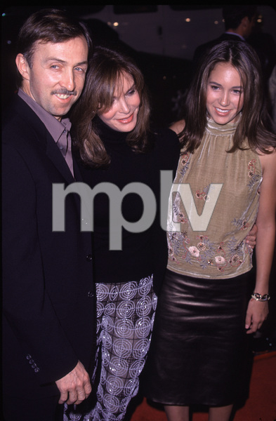 "Jaclyn Smith, husband Dr. Brad Allan, daughter""Charlie"