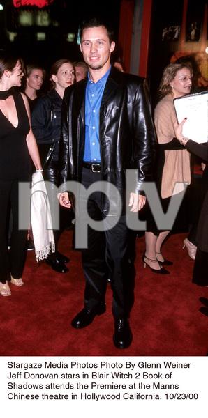 """""""Blair Witch 2: Book Of Shadows"""" Premiere.Jeffrey Donovan.  10/23/00. © 2000 Glenn Weiner - Image 17270_0105"""