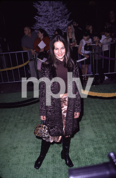 "Camilla Belle""How The Grinch Stole Christmas"" Premiere, 11/8/00. © 2000 Scott Weiner - Image 17300_0011"