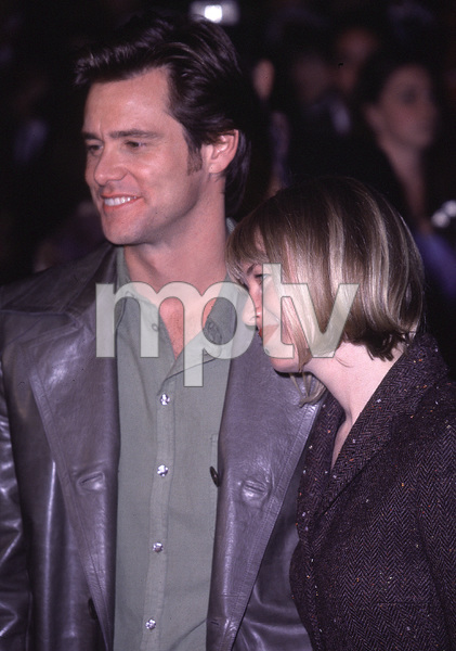 "Jim Carrey, Renee Zellweger""How The Grinch Stole Christmas"" Premiere, 11/8/00. © 2000 Glenn Weiner - Image 17300_0032"