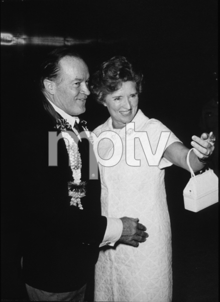 Bob Hope with wife Doloresduring a U.S.O. Christmas tour inSoutheast Asia1966Photo By Gerald SmithMPTV - Image 173_472