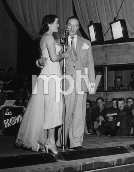 Bob Hope with Jane RussellC. 1958Photo By Gerald SmithMPTV - Image 173_504