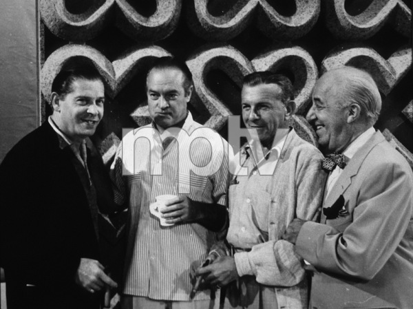 Bob Hope with Milton Berle, George Burns,and Ed WynnC. 1965Photo By Gerald SmithMPTV - Image 173_507