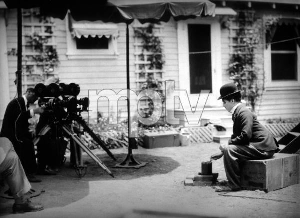 """Circus, The""Charlie Chaplin during the makingof the film.  1928 Chaplin/UA**I.V. - Image 17328_0002"