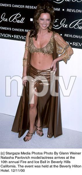 "Natasha Pavlovich""Fire And Ice Ball: 10th Annual,"" 12/11/00. © 2000 Glenn Weiner - Image 17348_0103"