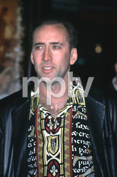 "Nicolas Cage""Family Man, The"" Premiere, 12/12/00. © 2000 Glenn Weiner - Image 17355_0001"