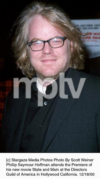 "Phillip Seymour Hoffman""State And Main"" Premiere, 12/18/00. © 2000 Scott Weiner - Image 17394_0104"