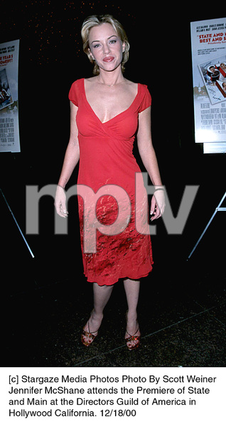 "Jennifer McShane""State And Main"" Premiere, 12/18/00. © 2000 Scott Weiner - Image 17394_0105"