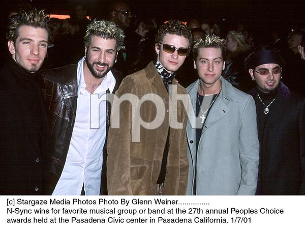 "NSYNC (JC, Joseph, Justin, Lance, Chris)""People"
