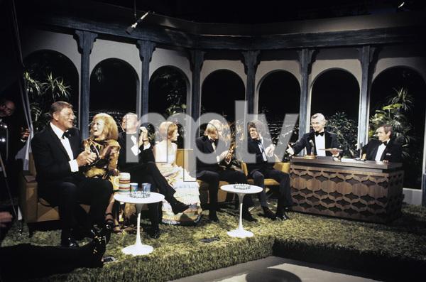 """The Tonight Show""John Wayne, Ann-Margret, Harvey Korman, Sandy Duncan, Johnny Carson 1972© 1978 David Sutton - Image 1755_0008"