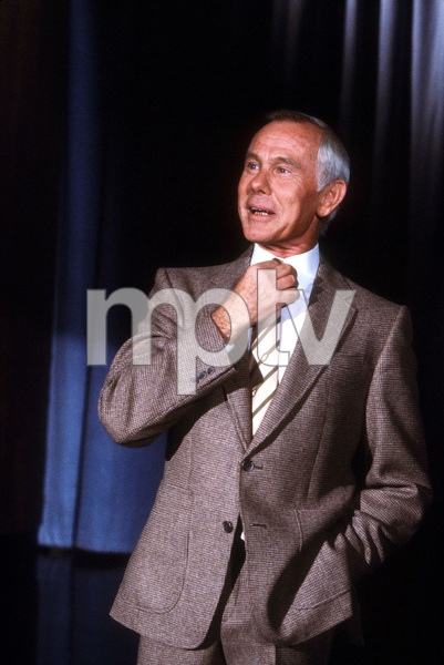 """Tonight Show, The""Johnny Carson1984 NBC © 1984 Gene TrindlMPTV - Image 1755_0025"