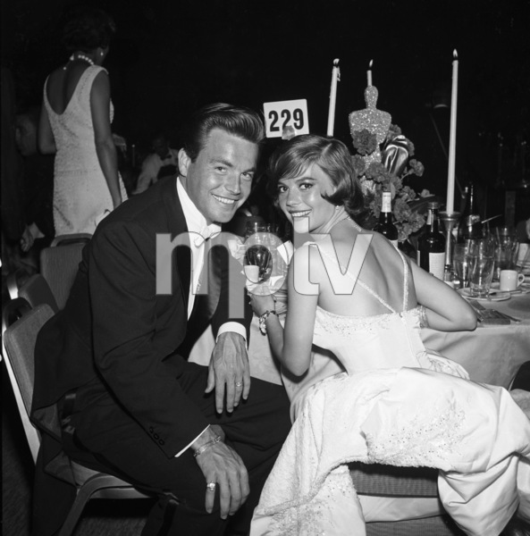 """""""The 32nd Annual Academy Awards"""" Robert Wagner, Natalie Wood 1960 © 1978 David Sutton - Image 1757_0029"""
