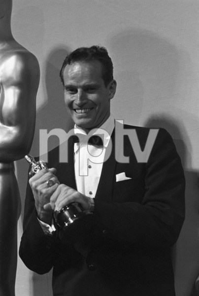 """The 32nd Annual Academy Awards""Charlton Heston1960© 1978 David Sutton - Image 1757_0061"