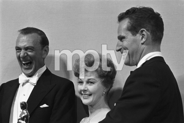 """The 32nd Annual Academy Awards""Gary Cooper, Susan Hayward, Charlton Heston1960© 1978 David Sutton - Image 1757_0062"