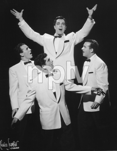 Four Aces, TheAl Alberts, Dave Mahoney, Sol Vocarro,Lou Silvestri, c. 1950. © 1978 Maurice Seymour - Image 17584_0001