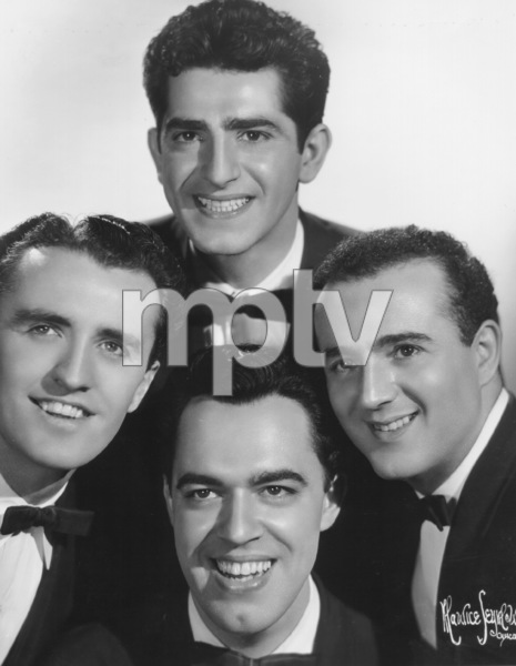 Four Aces, TheAl Alberts, Dave Mahoney, Sol Vocarro,Lou Silvestri, c. 1950. © 1978 Maurice Seymour - Image 17584_0003