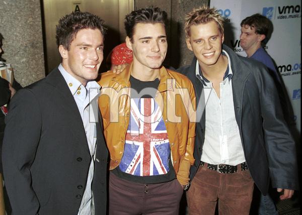 BB Mak (Mark Anthony Barry, Stephen McNally, Christian Burns)MTV Video Music Awards: 2000 © 2000 Ariel Ramerez - Image 17591_0110