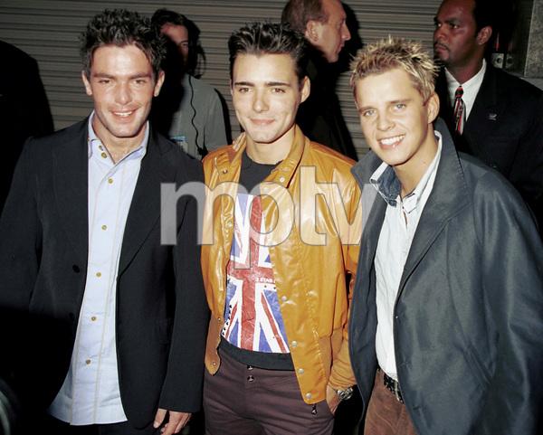 BB Mak (Mark Anthony Barry, Stephen McNally, Christian Burns)MTV Video Music Awards: 2000 © 2000 Ariel Ramerez - Image 17591_0112