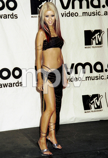 Christina AguileraMTV Video Music Awards: 2000 © 2000 Ariel Ramerez - Image 17591_0166