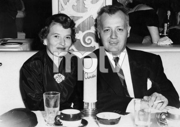 James Bacon and his wife at Ciro