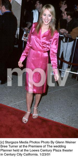 """Bree Turnerat """"The Wedding Planner"""" Premiere, 1/23/01. © 2001 Glenn Weiner - Image 17614_0100"""
