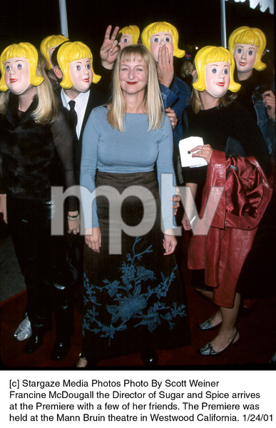 """Francine McDougall Director of Sugar and Spice at the """"Sugar and Spice"""" Premiere, 1/24/01. © 2001 Scott Weiner - Image 17630_0114"""