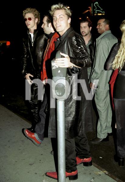NSYNC Reception Party in New York, 2000.Justin Timberlake, Lance Bass © 2000 Ariel Ramerez - Image 17704_0104