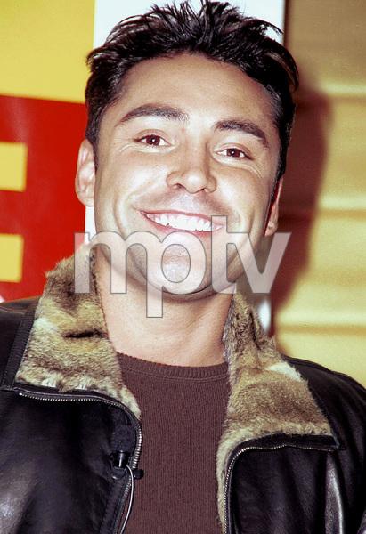 Oscar De La Hoya during a press conference launch for his CD, 2000. © 2000 Ariel Ramerez - Image 17705_0101