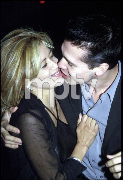 "Jon Seda with fiance.""Price of Glory"" Premiere,  2000. © 2000 Ariel Ramerez - Image 17710_0110"