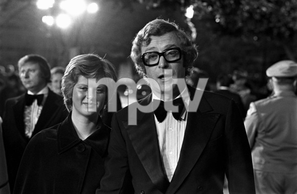 """""""The 45th Annual Academy Awards""""Michael Caine with his daughter Dominique1973 © 1978 Bud Gray - Image 1781_0029"""