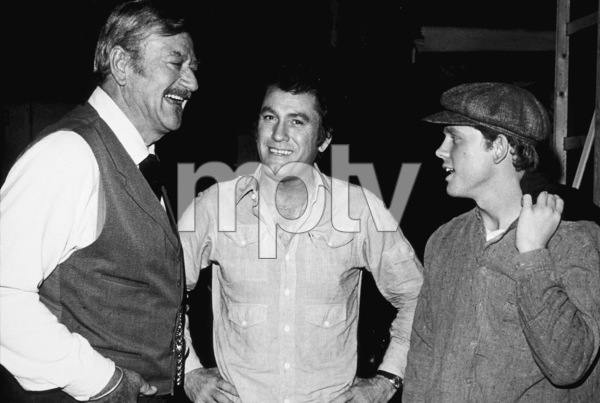 """The Shootist,"" Paramount 1976.John Wayne and Ron Howard. © 1978 David Sutton - Image 1797_0013"