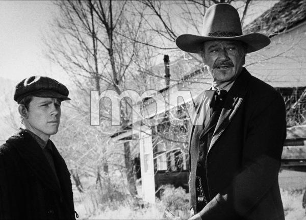 """The Shootist,"" Paramount 1976 Ron Howard and John Wayne © 1978 David Sutton - Image 1797_0014"