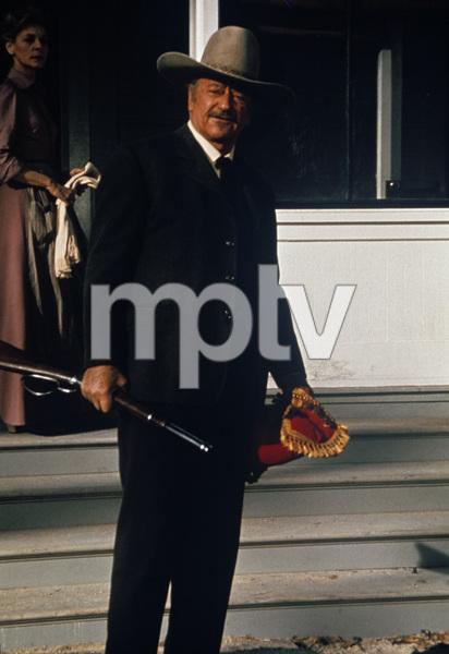 """The Shootist""Lauren Bacall, John Wayne1976 Paramount Pictures © 1978 David Sutton - Image 1797_0029"