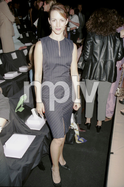 Kristin DavisNew York Fashion Week, 2000. © 2000 Ariel Ramerez - Image 18002_0106