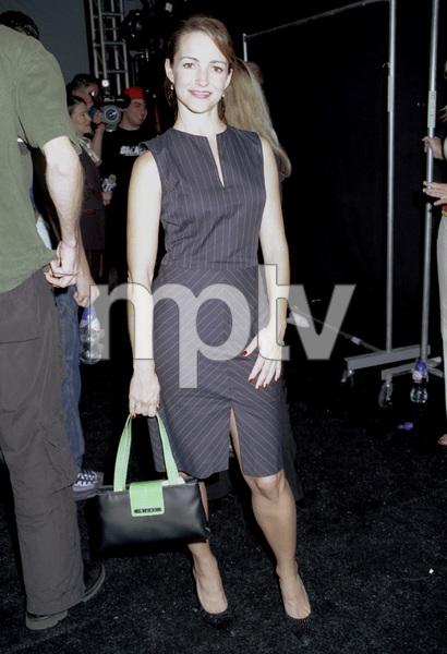 Kristin DavisNew York Fashion Week, 2000. © 2000 Ariel Ramerez - Image 18002_0109