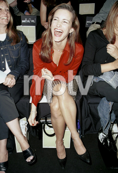 Kristin DavisNew York Fashion Week, 2000. © 2000 Ariel Ramerez - Image 18002_0127