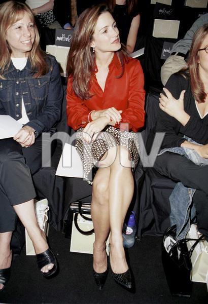Kristin DavisNew York Fashion Week, 2000. © 2000 Ariel Ramerez - Image 18002_0128