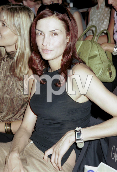 Famke JanssenNew York Fashion Week, 2000. © 2000 Ariel Ramerez - Image 18002_0131