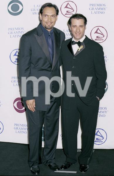 Jimmy Smits, Andy GarciaLatin Grammy Awards: 2000, New York © 2000 Ariel Ramerez - Image 18003_0104