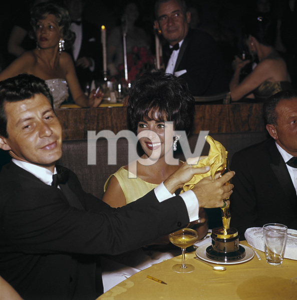 """""""Academy Awards: 33rd Annual"""" Eddie Fisher and Elizabeth Taylor 1961© 1978 Bernie Abramson - Image 1801_0002"""