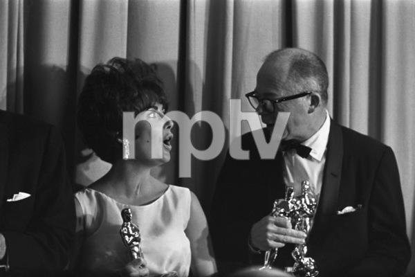 """The 33rd Annual Academy Awards""Elizabeth Taylor, Billy Wilder1961© 1978 Roger Marshutz - Image 1801_0068"