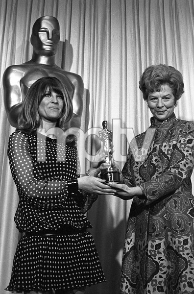 """""""The 39th Annual Academy Awards""""Julie Christie, Wendy Miller1967 © 1978 Bud Gray - Image 1808_0039"""