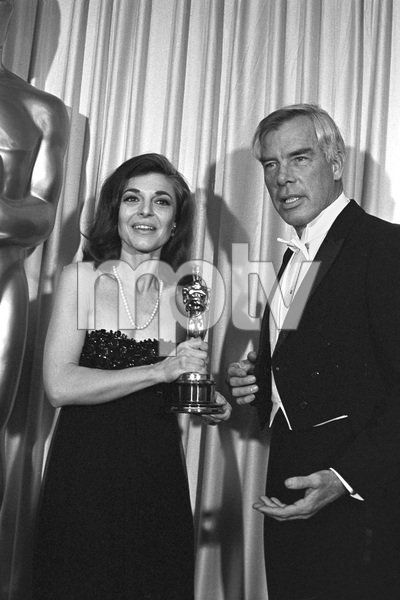 """""""The 39th Annual Academy Awards""""Anne Bancroft, Lee Marvin1967 © 1978 Bud Gray - Image 1808_0048"""