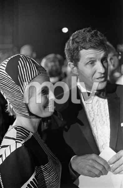 """""""The 39th Annual Academy Awards""""Robert Stack with wife Rosemarie1967 © 1978 Gunther - Image 1808_0052"""