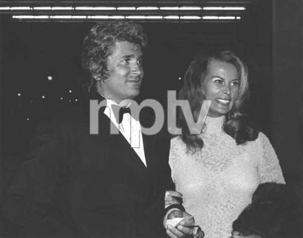 """Cabaret"" Premiere, 1972Michael Landon with wife Lynn at ABC Theater-Century City © 1978 Kim Maydole Lynch - Image 18374_0002"