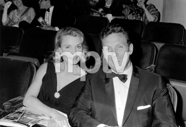 """""""Fifty Five Days at Peking"""" Premiere, 1964Robert and Rosemary Stack © 1978 Chester Maydole - Image 18392_0001"""