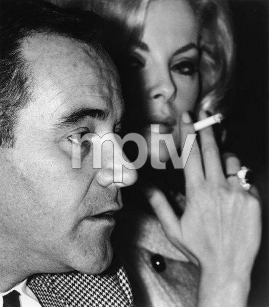 """""""Foreign Press Conference"""" 1964Jack Lemmon and wife Felicia Farr © 1978 Chester Maydole - Image 18404_0001"""